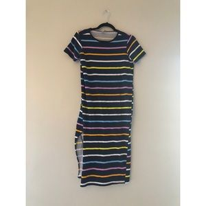 Multicolor Striped Maxi Dress from ASOS